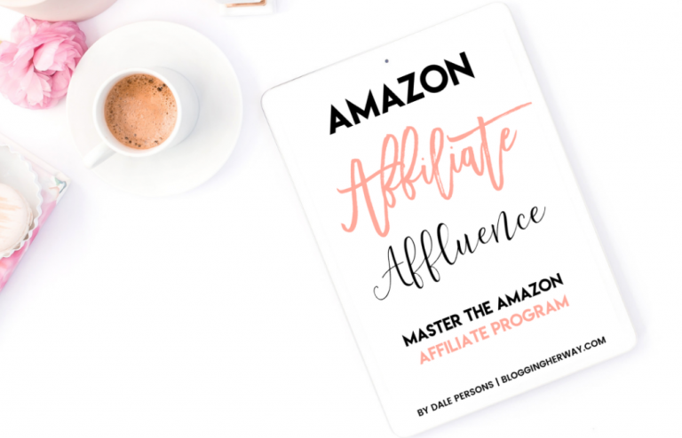 amazon affiliate affluence blogging ebook