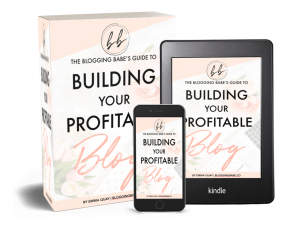 building your profitable blog