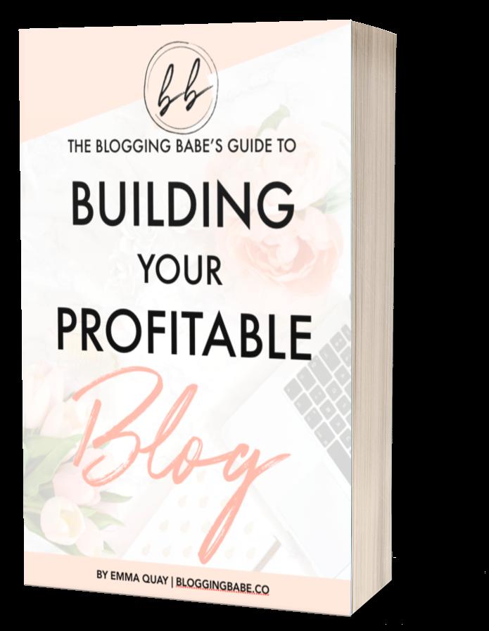 building your profitable blog