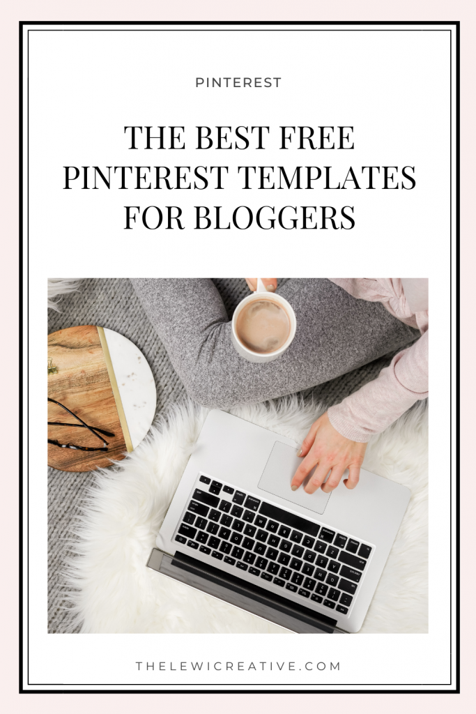 free pinterest templates for bloggers