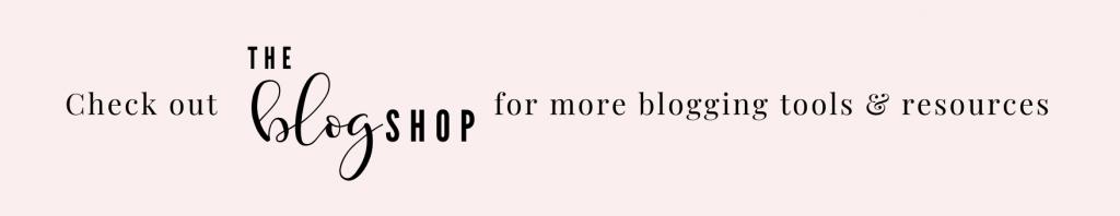 the blog shop