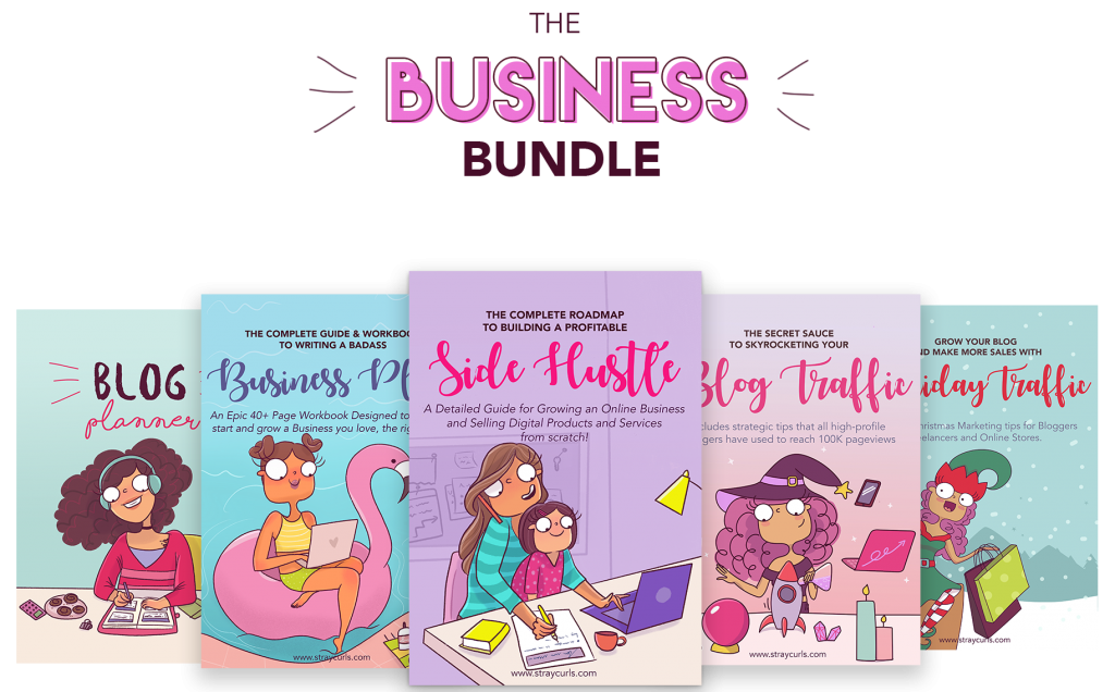 business bundle by stray curls