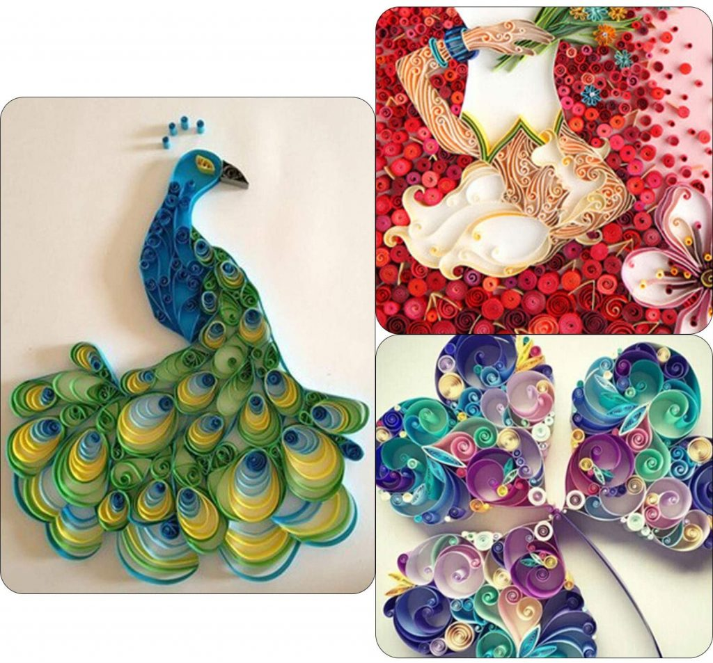 gift guide for creatives - quilling kit