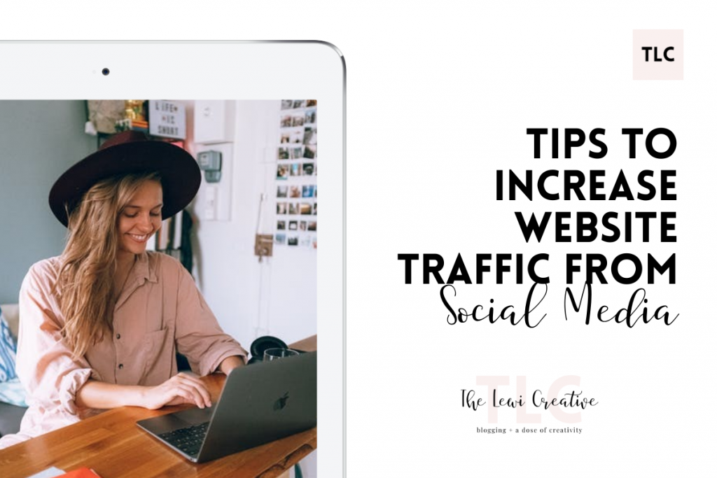 tips to increase website traffice from social media