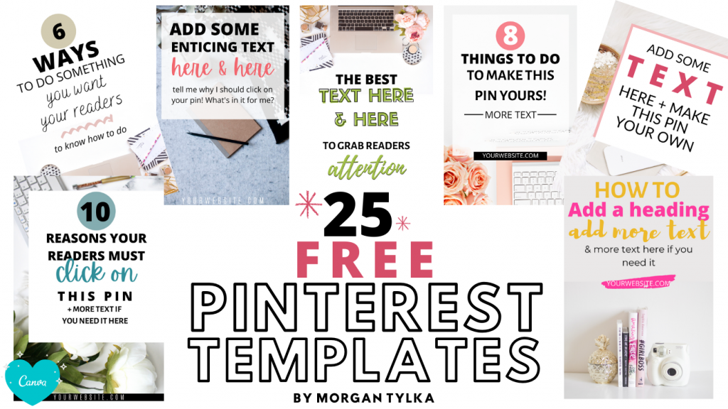 free pinterest templates by morgan tylka